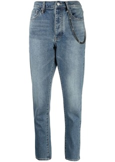 Armani Exchange cropped denim jeans