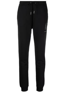 Armani Exchange embellished-logo sweatpants