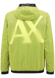 Armani Exchange Hooded Nylon Jacket