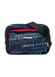 Armani Exchange logo belt bag