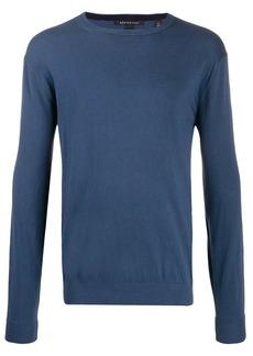 Armani Exchange logo embroidered sweatshirt