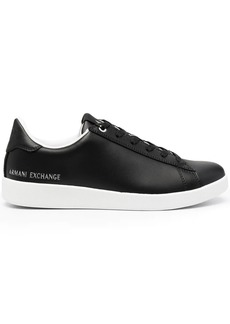 Armani Exchange logo low-top sneakers