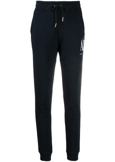 Armani Exchange logo-print track pants