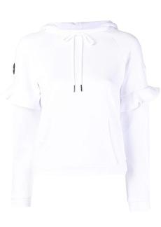 Armani Exchange ruffled sweatshirt