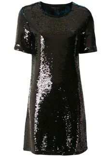Armani Exchange sequin-embellished mini dress