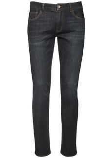 Armani Exchange Stretch Cotton Blend Denim Jeans
