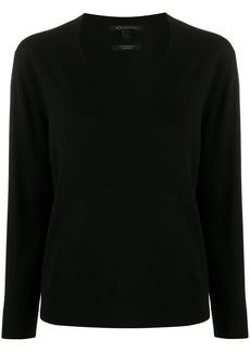 Armani Exchange V-neck knitted jumper