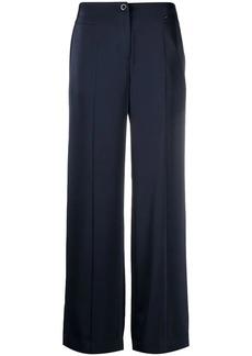 Armani Exchange wide-leg trousers