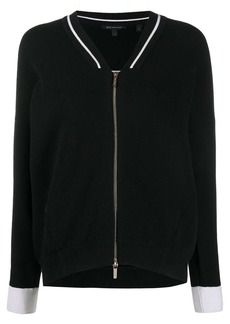 Armani Exchange zip-up cardigan