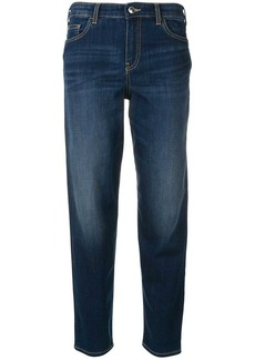 Armani faded cropped jeans