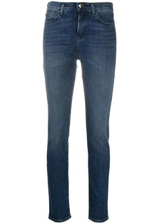 Armani faded skinny jeans