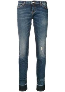 Armani faded slim fit jeans