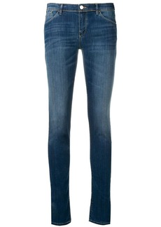 Armani faded slim jeans