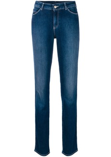 Armani faded tapered jeans