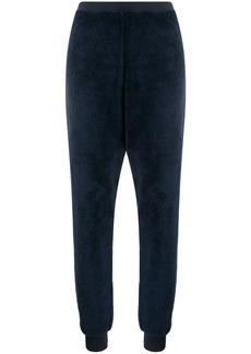 Armani faux fur pyjama trousers