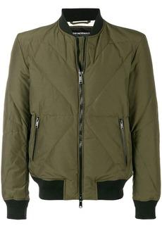 Armani feather down bomber jacket