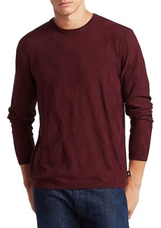 Armani Fine Knit Crewneck Sweater