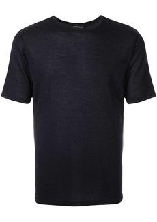 Armani fine knit T-shirt