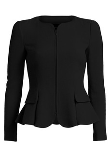 Armani Fit-And-Flare Wool Jacket