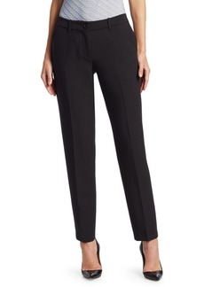 Armani Fitted Ankle-Length Pants