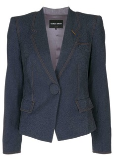 Armani fitted cropped blazer