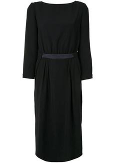 Armani fitted midi dress