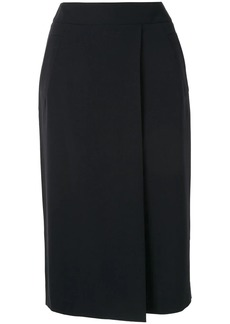 Armani fitted midi skirt