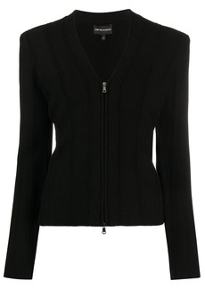 Armani fitted zipped jacket