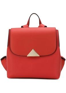 Armani flap top backpack