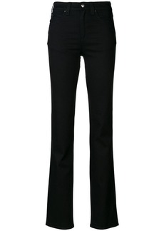 Armani flared high-waisted jeans