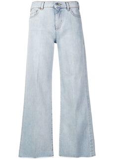 Armani flared leg jeans