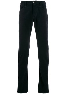 Armani flared mid-rise trousers