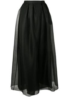 Armani flared style skirt