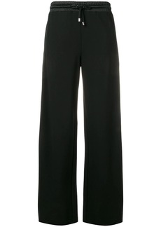 Armani flared track trousers