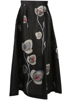 Armani floral maxi skirt