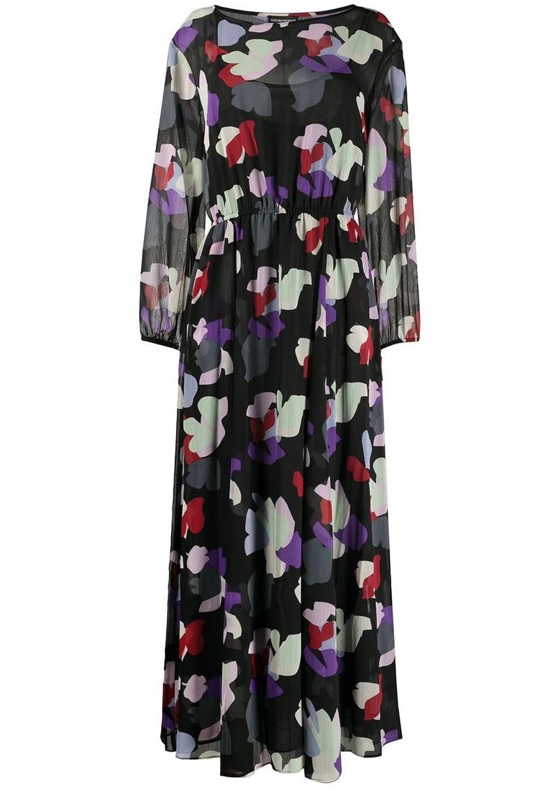 Armani floral print maxi dress