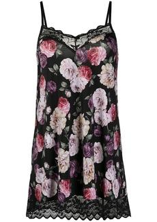 Armani floral-print slip dress