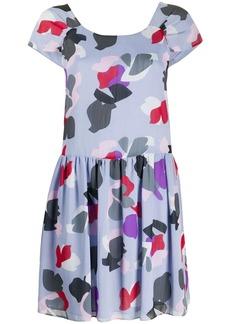 Armani floral printed mini dress