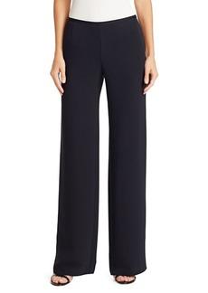 Armani Fluid Silk Crepe Pants