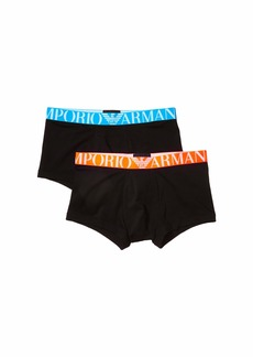 Armani Fluo Logoband Multipack 2-Pack Trunks