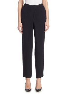 Armani Foldover Ankle Length Pants