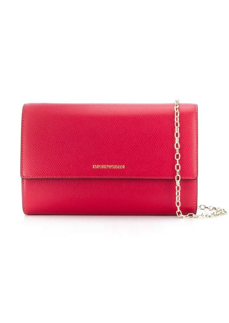 Armani foldover wallet