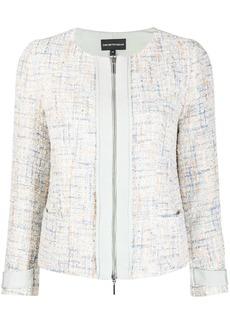 Armani Formal Tweed embellished jacket