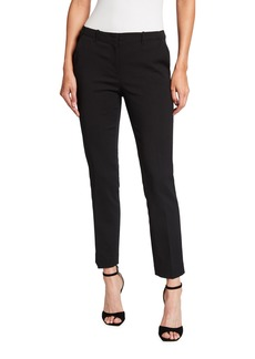 Armani Full Length Stretch Cotton Trousers