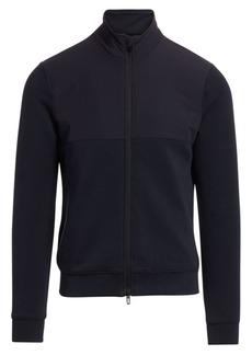 Armani Full-Zip Jersey Jacket