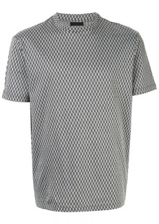 Armani geometric pattern T-shirt