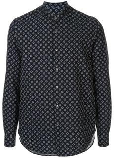 Armani geometric print shirt