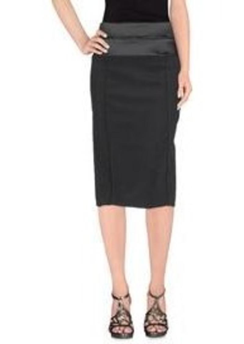GIORGIO ARMANI - Knee length skirt