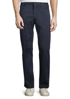 Giorgio Armani 5-Pocket Slim-Leg Twill Pants