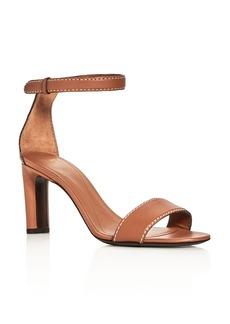 Giorgio Armani Basic Ankle Strap High Heel Sandals